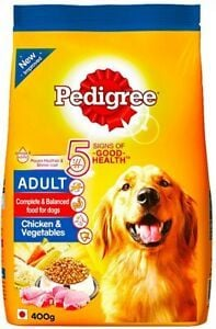 Authentic Pedigree Adult Dog Food, Chicken and Vegetables