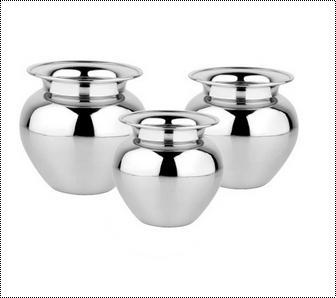 Impeccable Finish Stainless Steel Lota