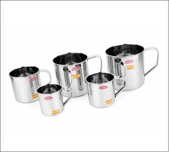 Robust Construction Stainless Steel Mug