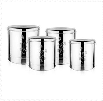 Steel Stainless Storage Pot