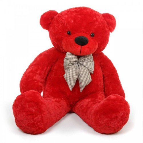 3.5 Feet Cute Red Teddy Bear