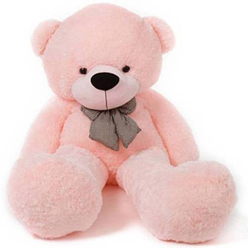 4 Feet Pink Teddy Bear