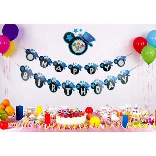 Birthday Party Decorations Banners At Best Price In Faridabad Haryana Cachet India
