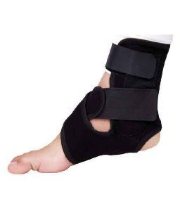 Black Universal Size Ankle Brace