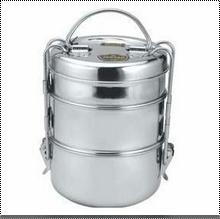 Easy To Carry Clip Plain Tiffin