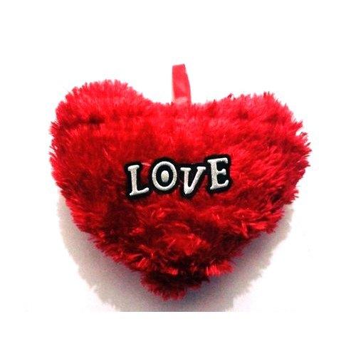 Heart Shape Red Cushion