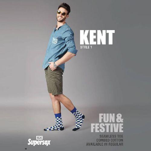 Mens Kent Seamless Toe Socks