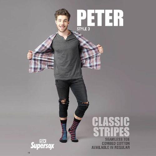 Mens Peter Seamless Toe Socks