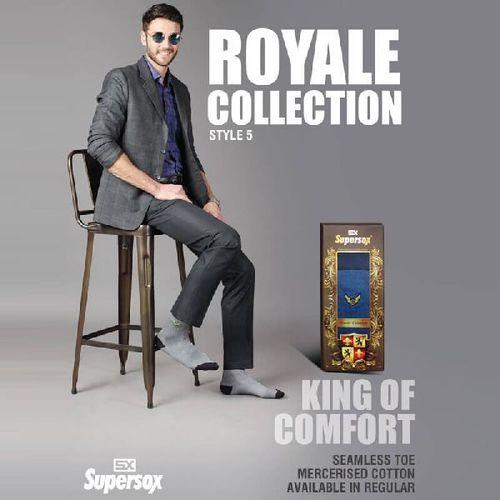 Mens Royale Seamless Toe Socks