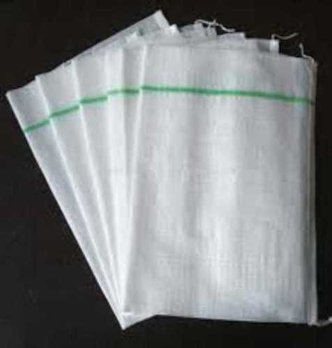 Recyclable White Woven Bags