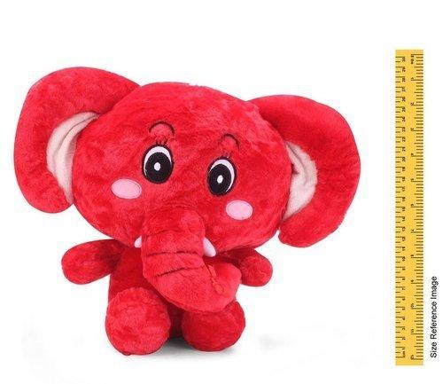 Red Color Soft Elephant