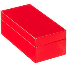 Red Shoe Box