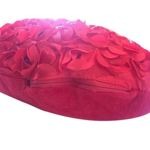 Rose Petals Stuffed Pillow