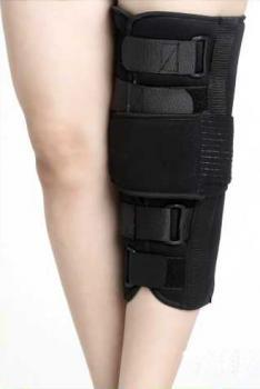 Short Type Black Knee Immobilizer