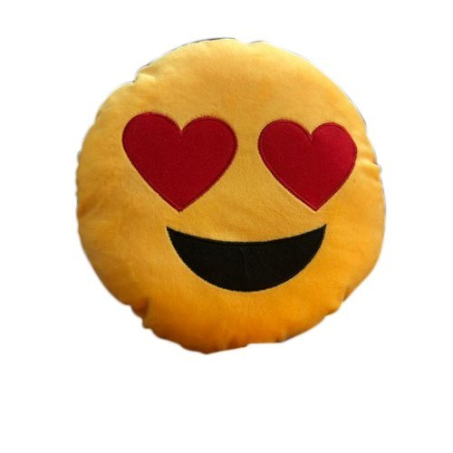 Washable Smiley Pillow For Babies