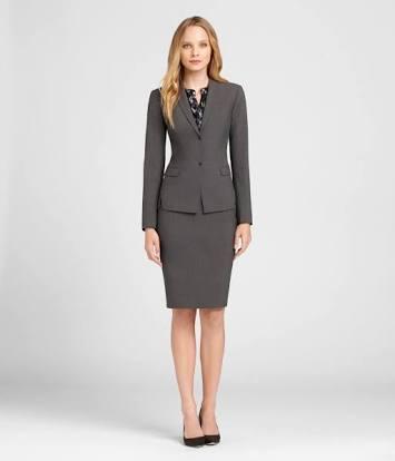 Women Corporate Skirt Suit