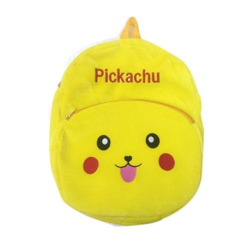 Yellow Pickachu Kids Bag