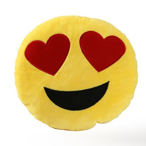 Yellow Smile Face Stuffed Toy