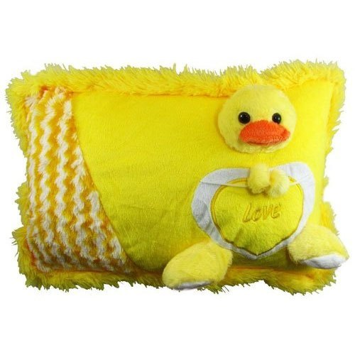 Yellow Stuffed Pillow For Baby
