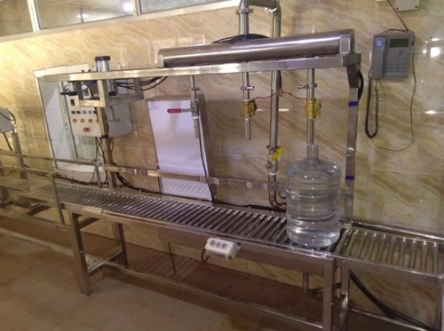 Automatic or Manually Jar Filling Machine