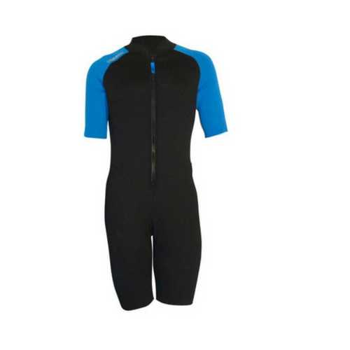 Black and Blue Swimming Costume