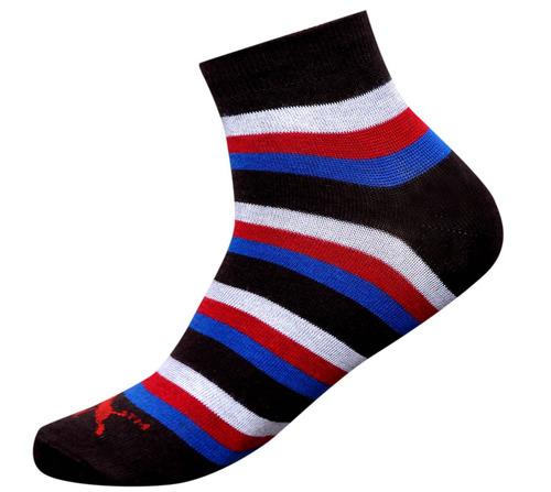 Black Men Ankle Casual Socks