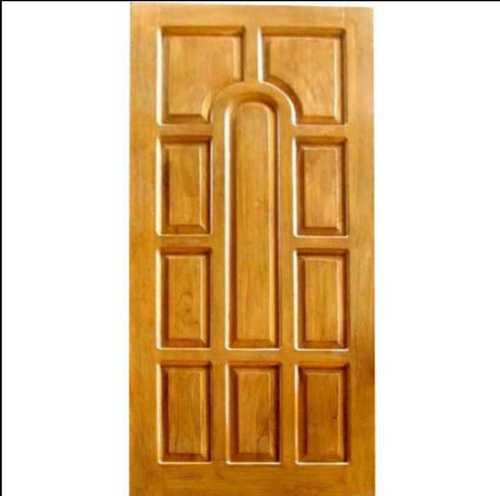 Brown Wooden Panel Doors