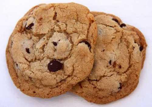 Butter Atta Round Cookies