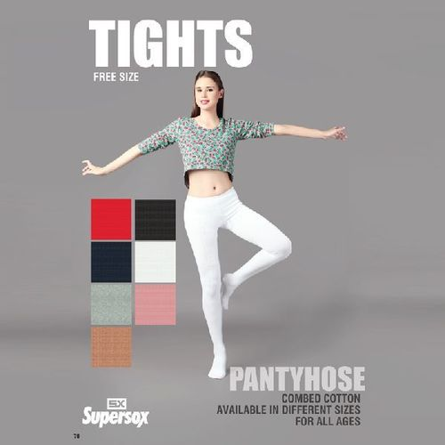 Free Size Ladies Cotton Tights