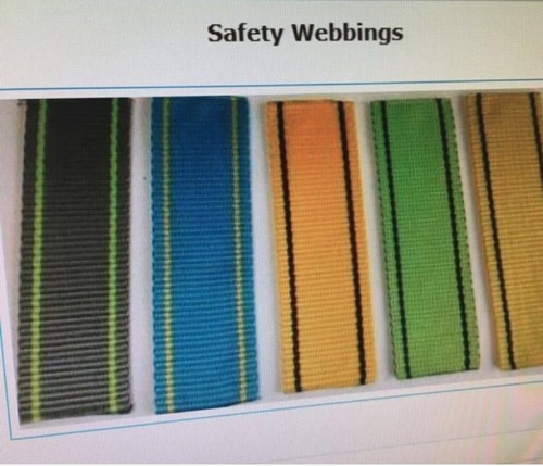 High Strength Safety Webbing