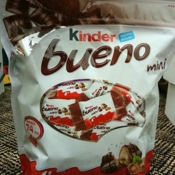 Kinder Bueno Mini Chocolate 108G Certifications: Iso2200