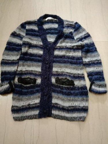 Ladies Woolen Long Sweater