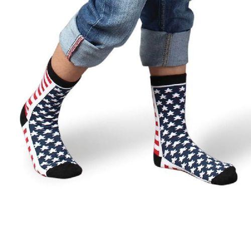 Multi Color Printed Kids Socks