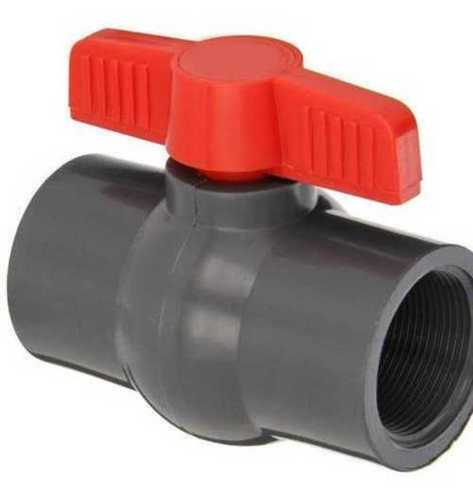 Plain Plastic Ball Valve