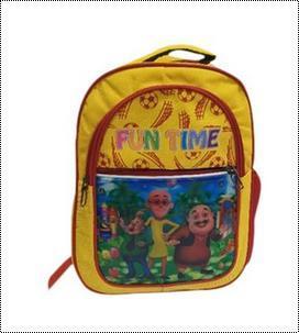 Printed Boys School Bag