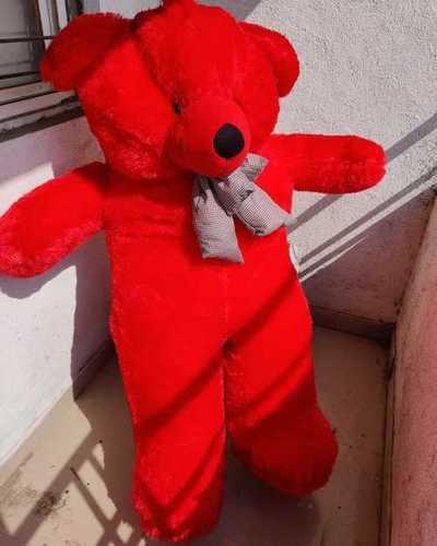 Red Color Stuffed Teddy Bear
