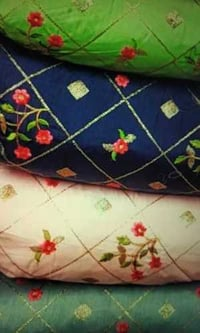 Skin Friendly Embroidery Fabric