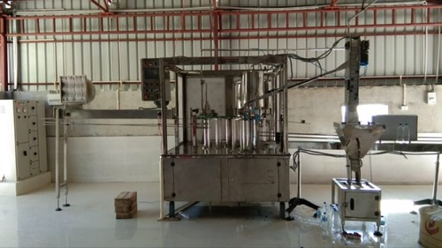 Stainless Steel Water Filling Machine