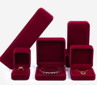 Velvet Jewellery Packaging Box