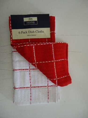 6 Pack Kitchen Dish Cloths