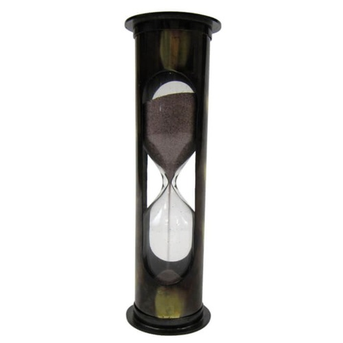 Antique Brass 5-min. Timer Purple Sand