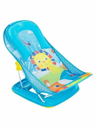 Blue Printed Baby Bather