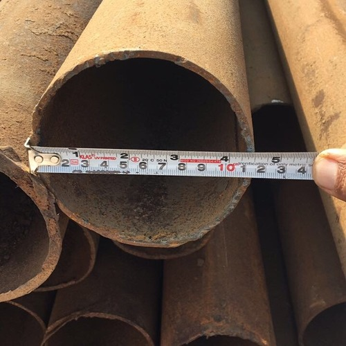 Industrial Ms Round Pipes