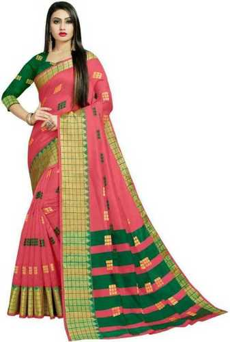Ladies Party Wear Banarasi Silk Saree