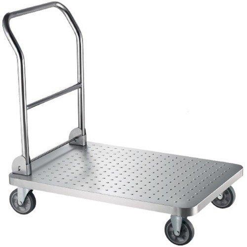 Mild Steel Silver Trolley