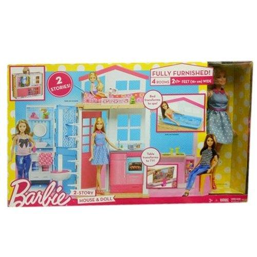 Multicolor Plastic Barbie Dolls