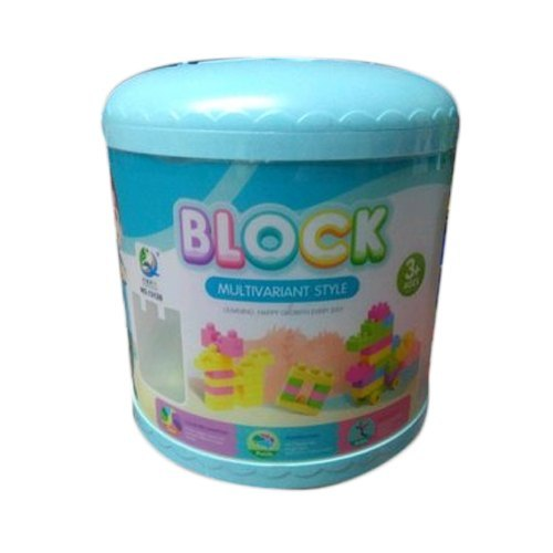 Multicolor Plastic Block Toys