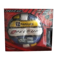 Multicolor Round Pu Volleyball