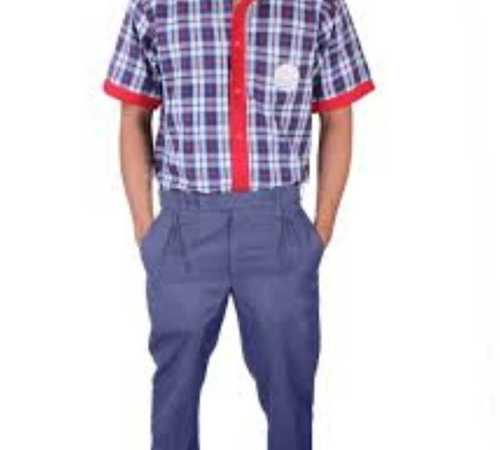 School Uniform Cotton Pants And Shirts