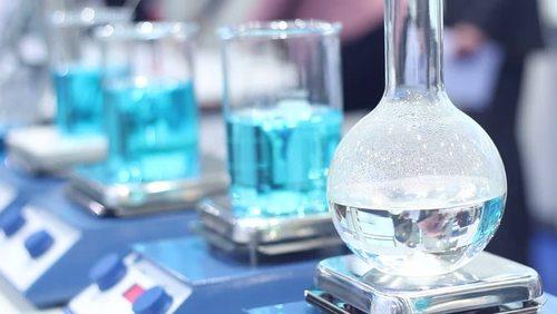 Transparent Round Laboratory Glassware